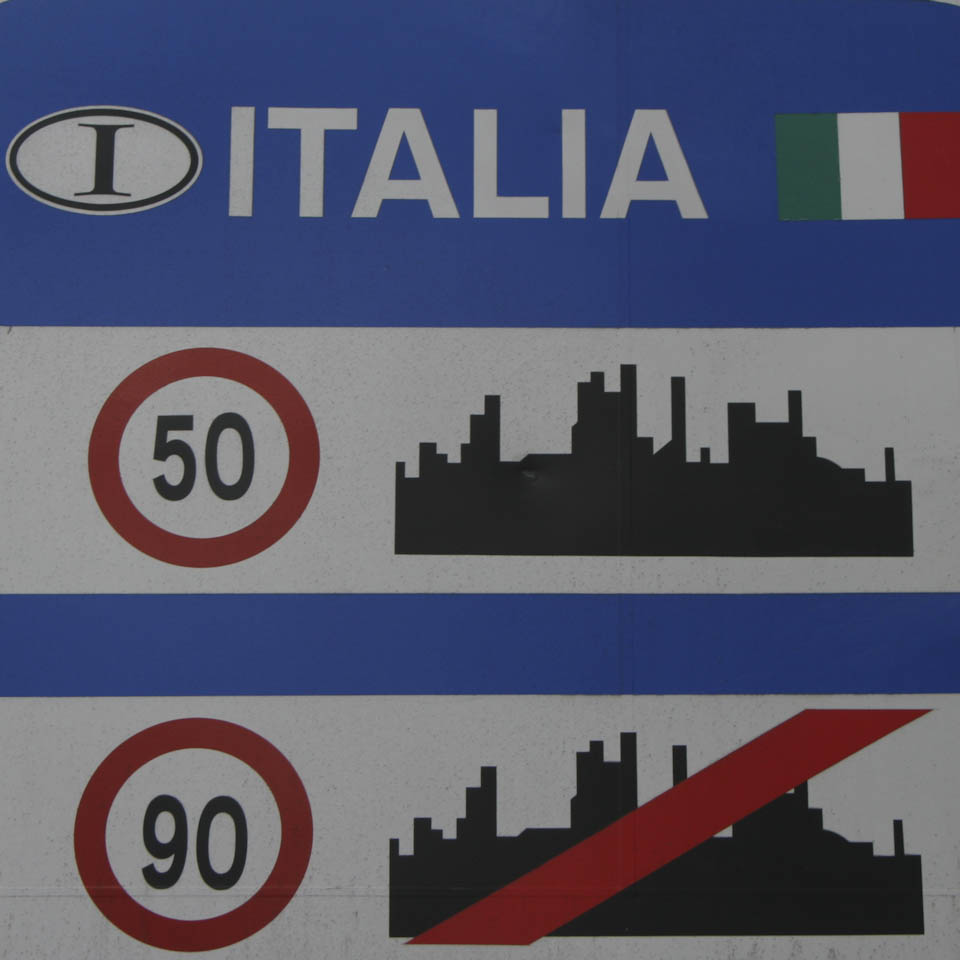 Traffic fines in Italy