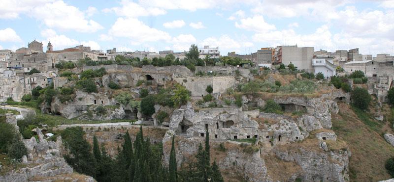 Caves around Gravina in Puglia