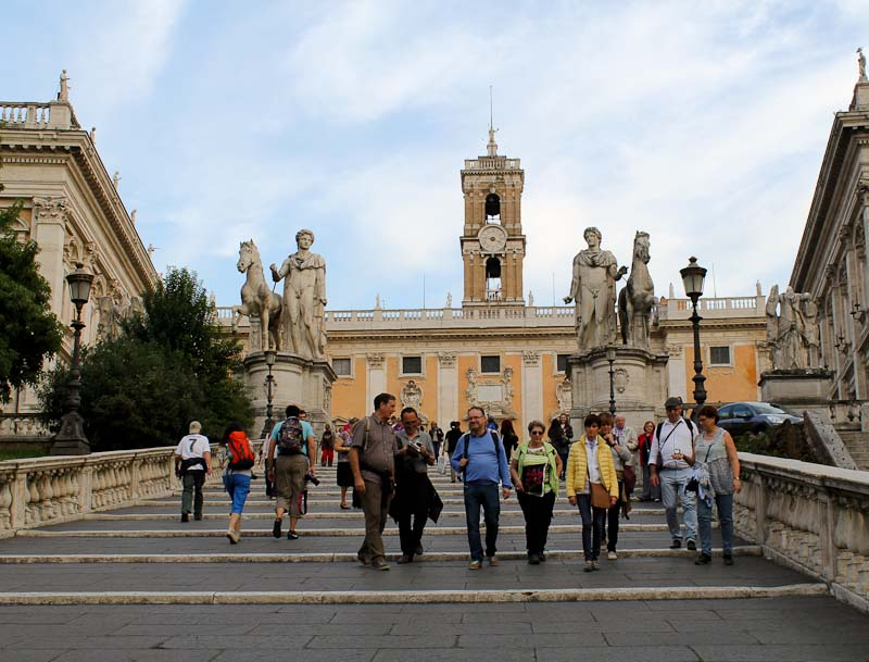 5 steps to Rome