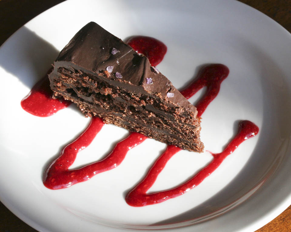 recipe for chocolate ganache cake