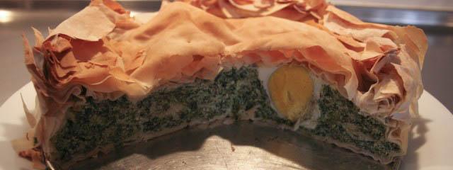 Ligurian Easter pie
