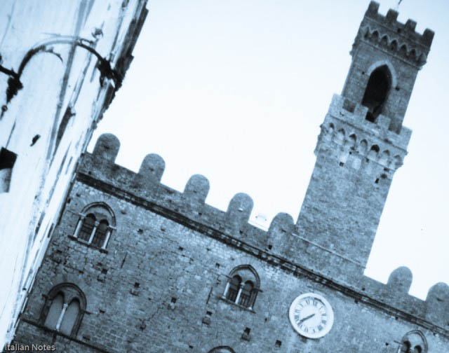 The fortress of Volterra