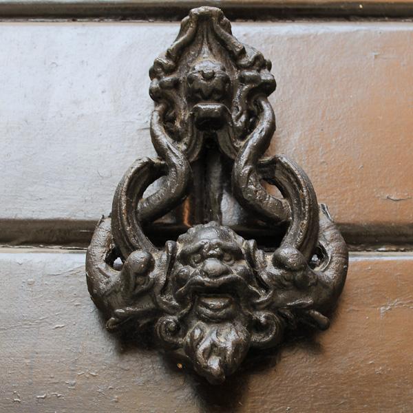 Abruzzo Door Knockers Seen In Teramo Sulmona And Chieti