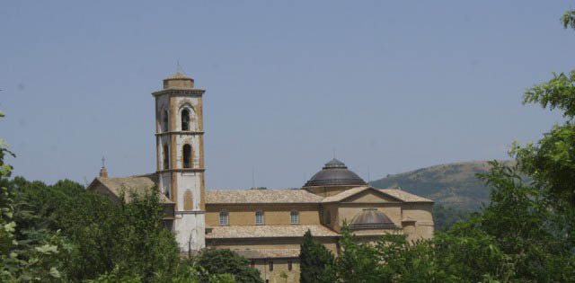 A university town named Camerino in Marche