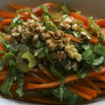 Carrot and celery salad  recipe