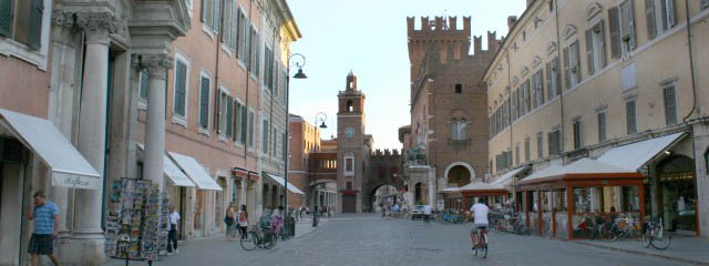 Ferrara tourist guide: The origin of urban planning