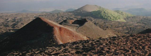 Hikes on mount Etna