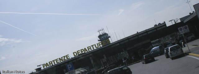 Milan airports: Transit Malpensa Linate