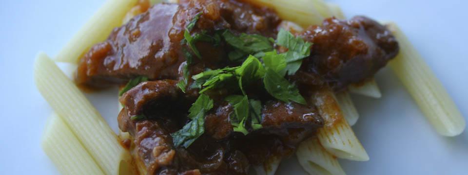 Roman beef stew