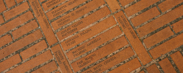 Pilgrim trails: A brick for Assisi