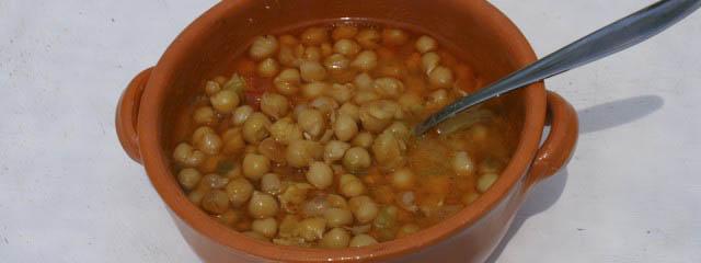 Puglian chickpea casserole