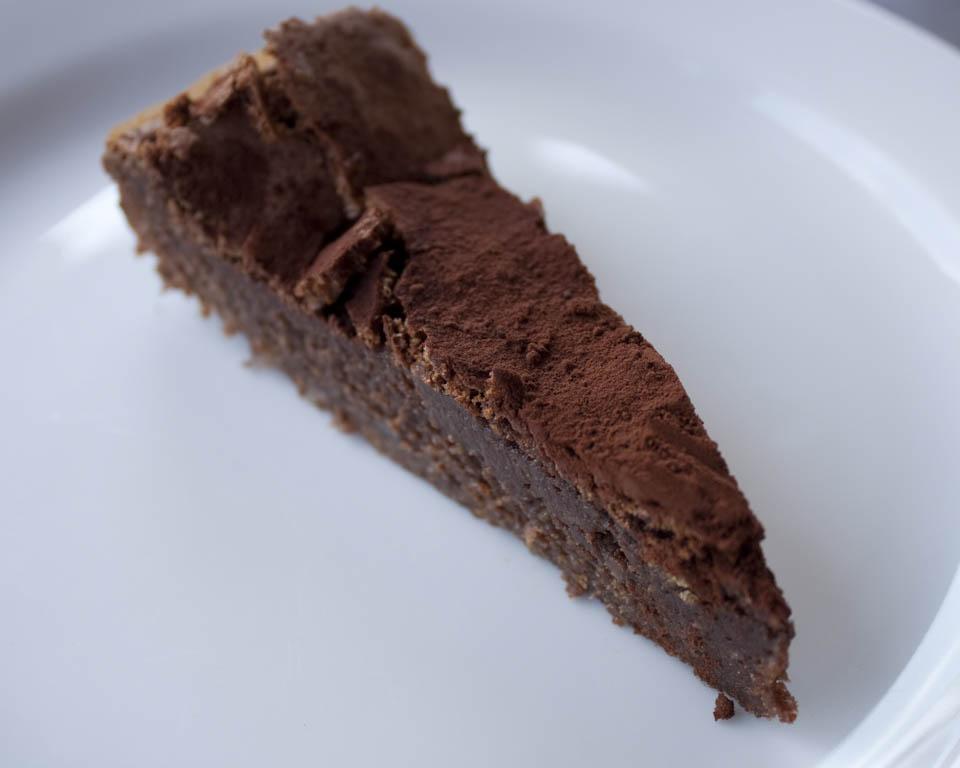Chocolate Cake Almond Bath Marie