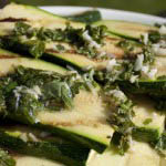 Marinated squash with basil and mint-1