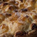 Apple cake with walnuts and amaretti-1