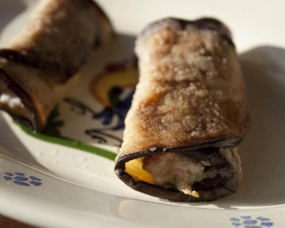 Eggplant wrap