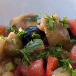 Ciambotta - Aubergine, pepper and potato stew