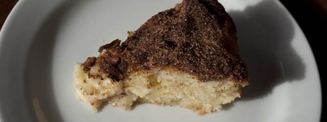 Apple cake with aniseed, cardamom and cinnamon