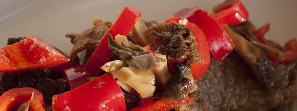 Easy Italian steak mushrooms recipe