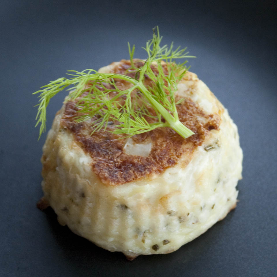 Fennel recipe - savoury flan