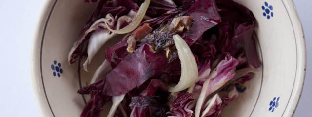 Radicchio and pancetta1