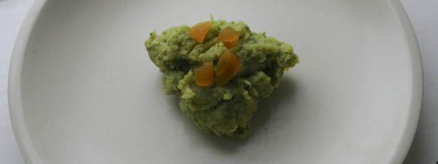 Broccoli and apricot pesto
