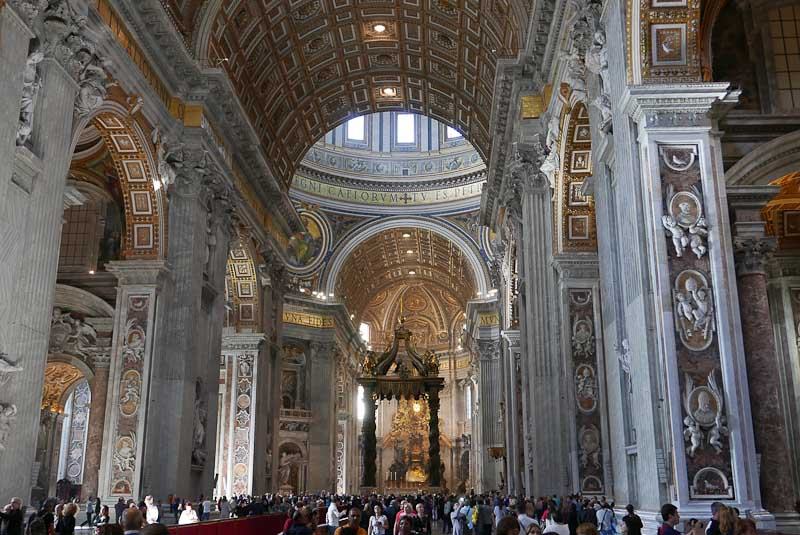 St Peter Basilica in Rome