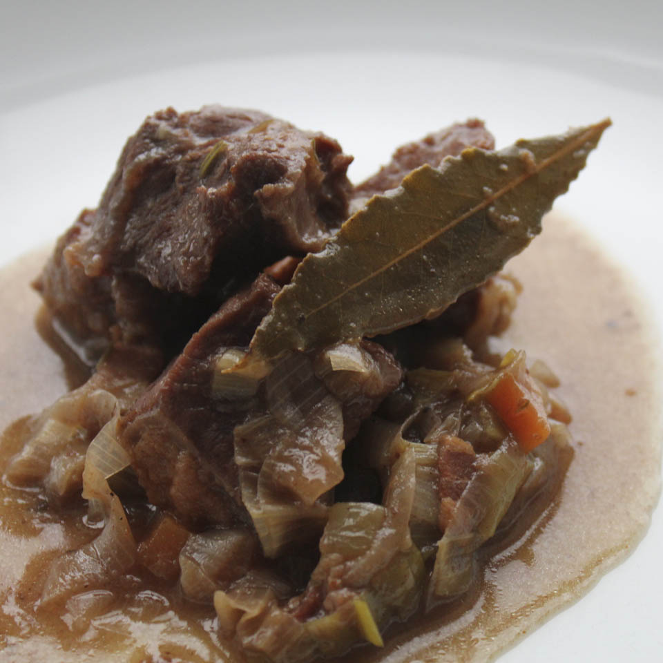 Slow cooked beef stew