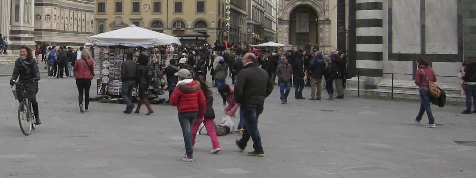 Paradise Gates in Florence