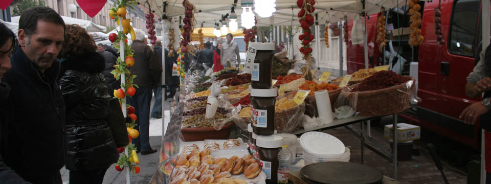 Truffle fair in Piedmont