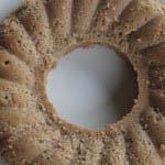 Chestnut cake from Lunigiana in Tuscany