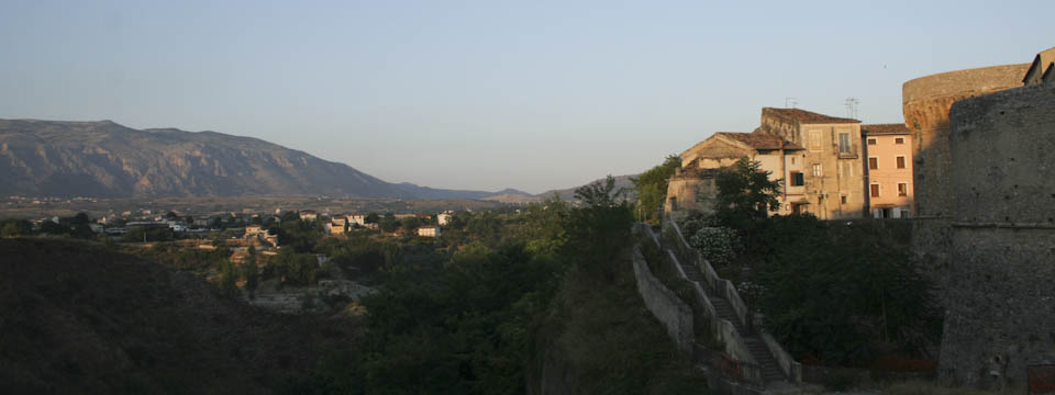 Two sides of Castrovillari in Calabria