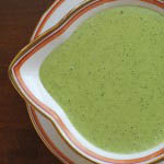 Green sauce for meat and vegetables 1