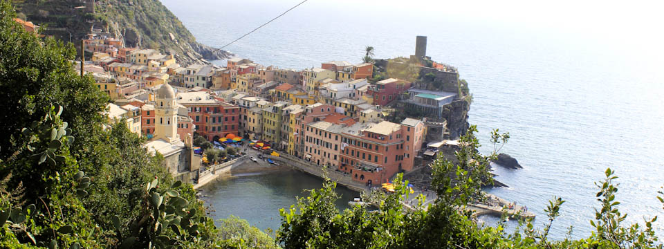 The Cinque Terre hike