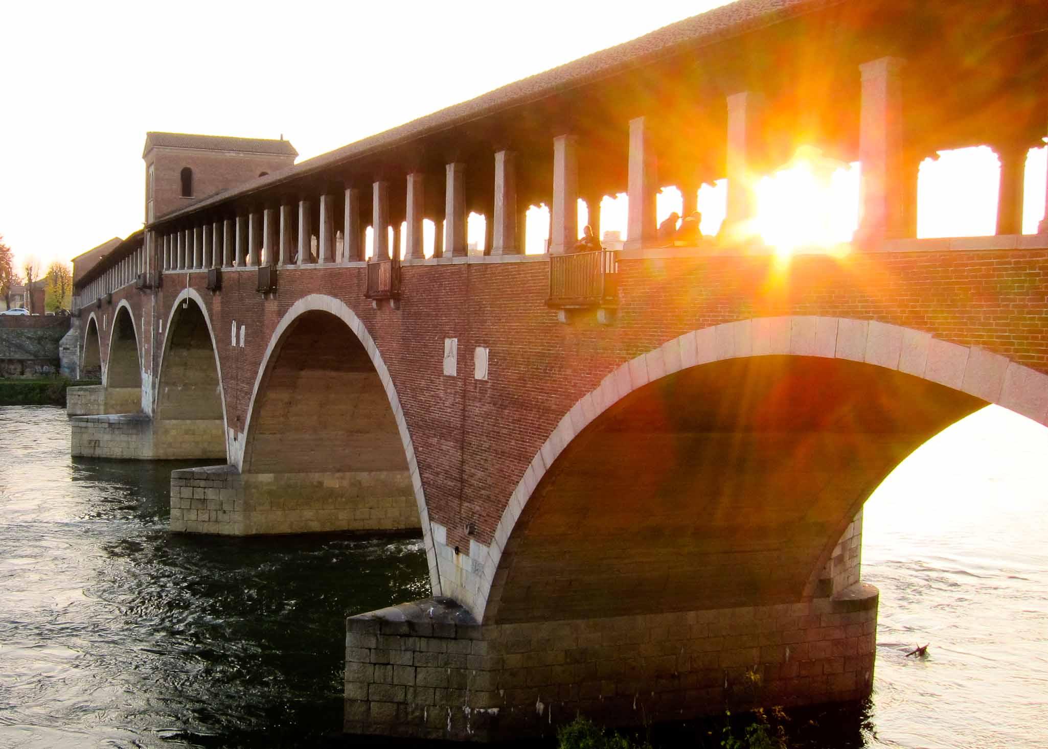 Ponte Coperto in Pavia