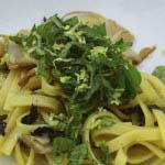 Pasta with artichokes 1
