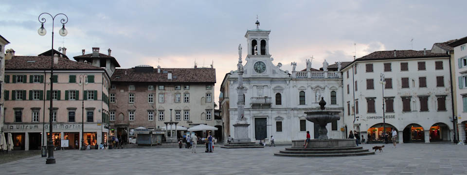 Surrounded by art and architecture in Udine