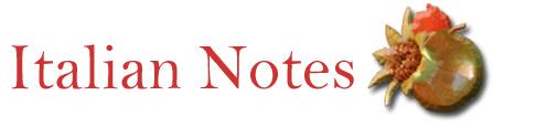 Italian Notes