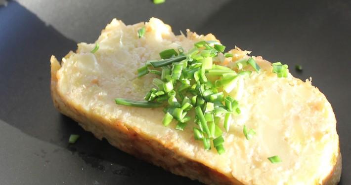 Romanesco cauliflower loaf