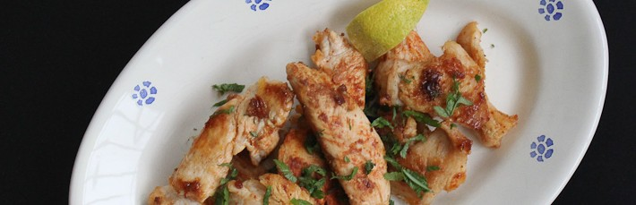 Chicken with Lemon and Garlic