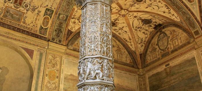 Photo of courtyard in Palazzo Vecchio